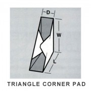 triangle-corner-pad